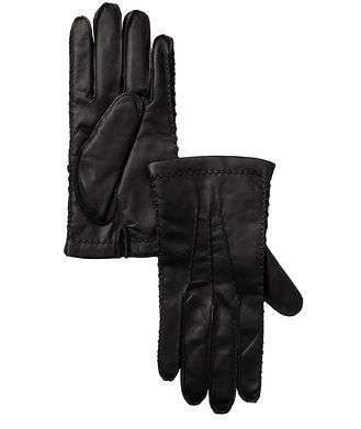 Harry Rosen Leather Cashmere Driving Gloves