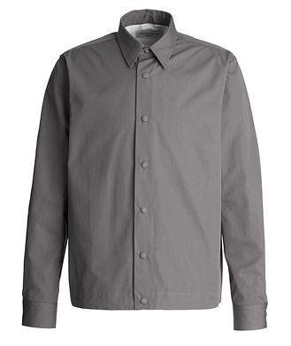 Officine Generale Stan Tailored Poplin Overshirt