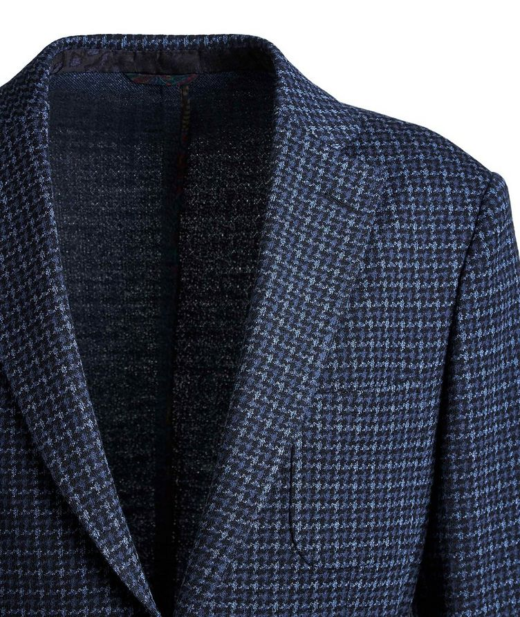 Houndstooth Cotton-Wool Sports Jacket image 2