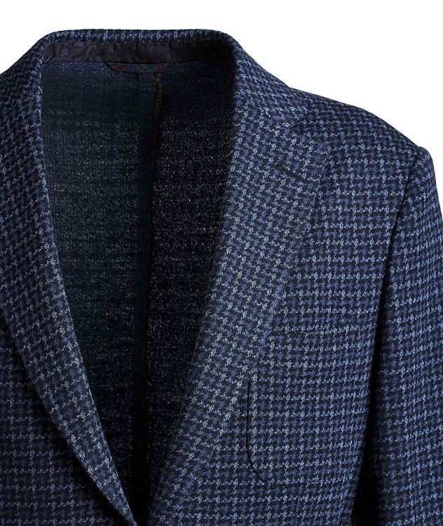 Houndstooth Cotton-Wool Sports Jacket picture 3