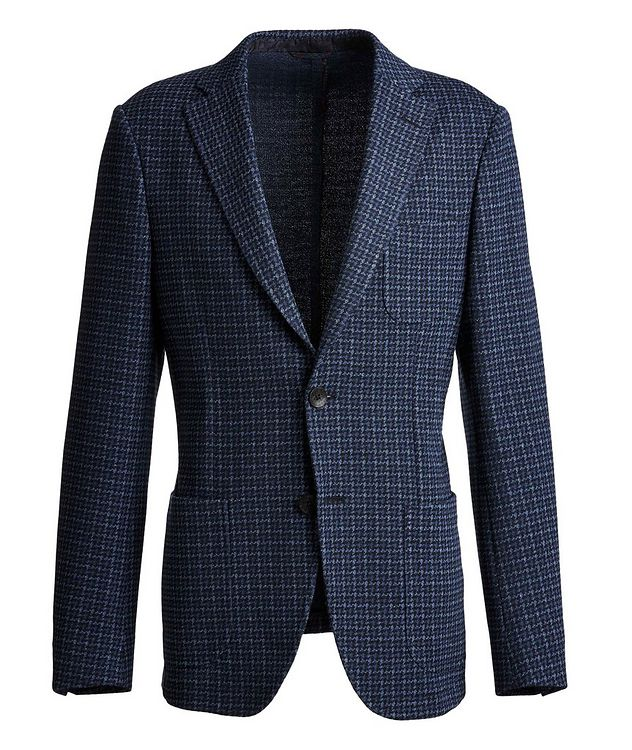 Houndstooth Cotton-Wool Sports Jacket picture 1