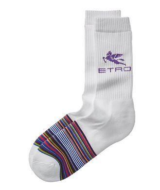 Etro Striped Terrycloth Tube Socks