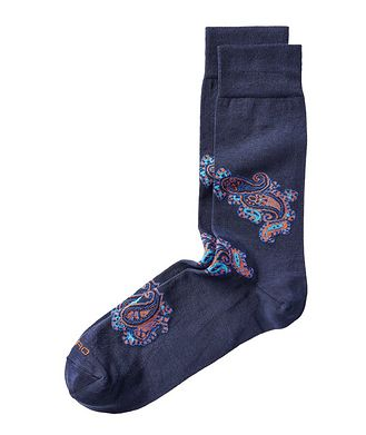 Etro Paisley Print Socks