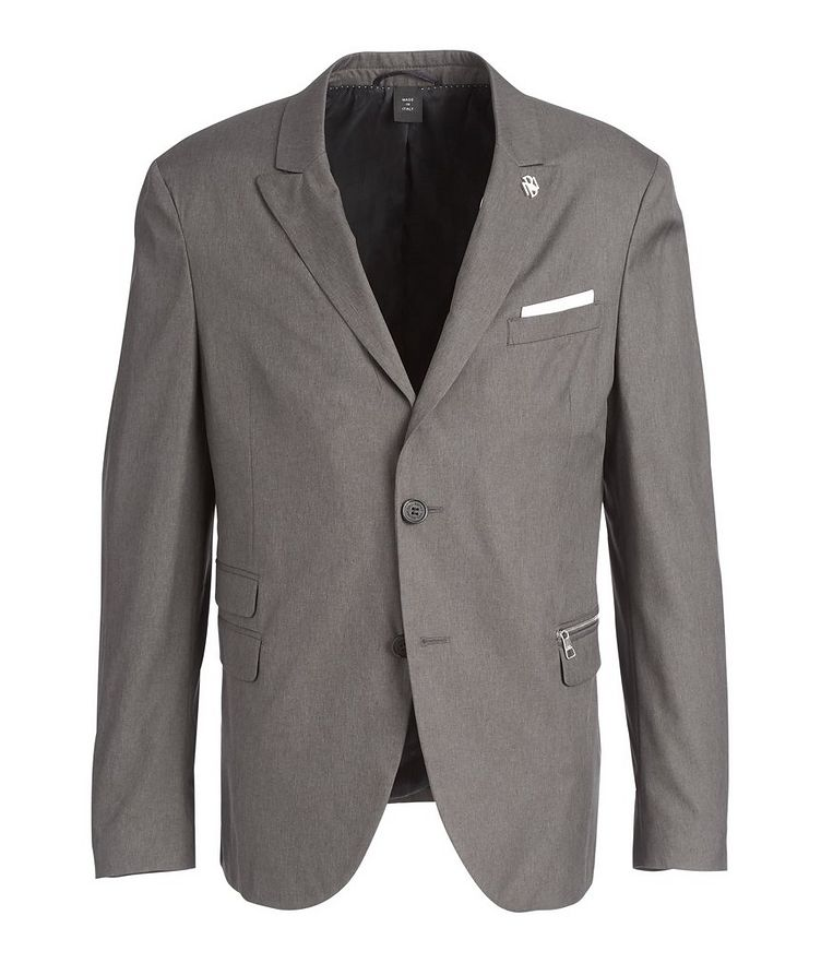 Slim Fit Technical Sports Jacket image 0