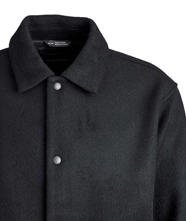 Wool-Blend Shirt Jacket picture 3