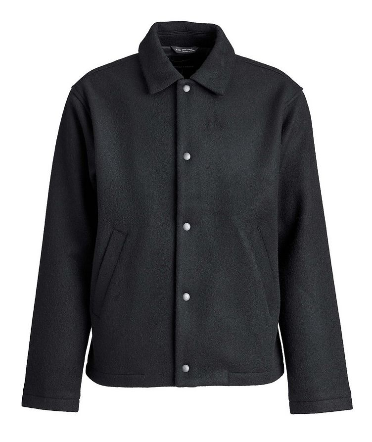 Wool-Blend Shirt Jacket image 0