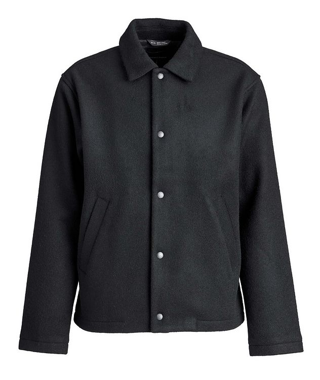 Wool-Blend Shirt Jacket picture 1
