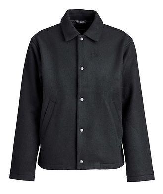 Wings & Horns Wool-Blend Shirt Jacket