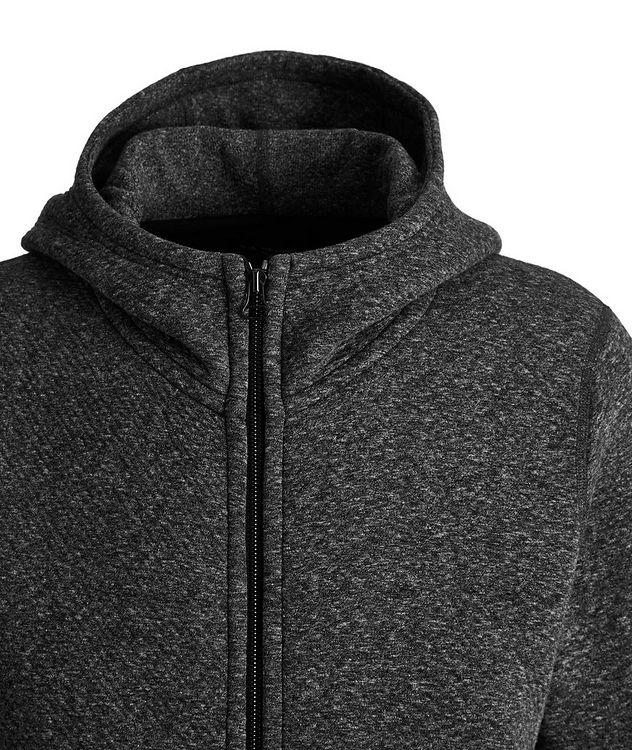 Zip-Up Cotton-Fleece Hoodie picture 2