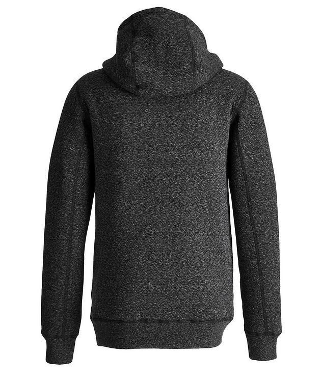 Zip-Up Cotton-Fleece Hoodie picture 3