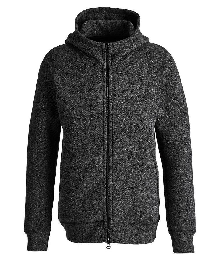 Zip-Up Cotton-Fleece Hoodie image 0