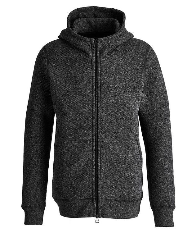 Zip-Up Cotton-Fleece Hoodie picture 1