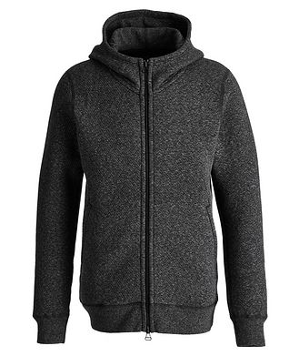 Wings & Horns Zip-Up Cotton-Fleece Hoodie