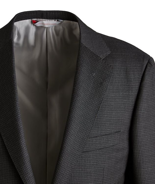 Cosmo Checked Wool Suit  picture 3