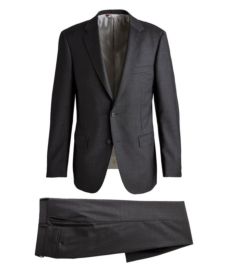 Cosmo Checked Wool Suit  image 0