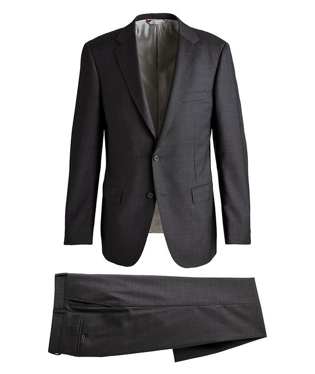 Cosmo Checked Wool Suit  picture 1