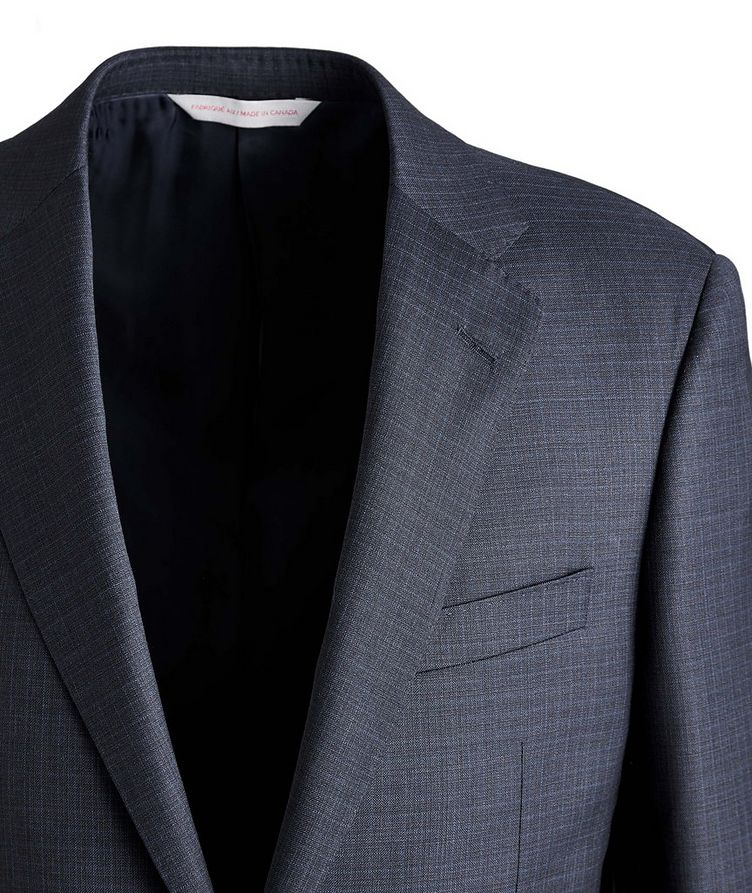 Cosmo Checked Wool Suit image 2