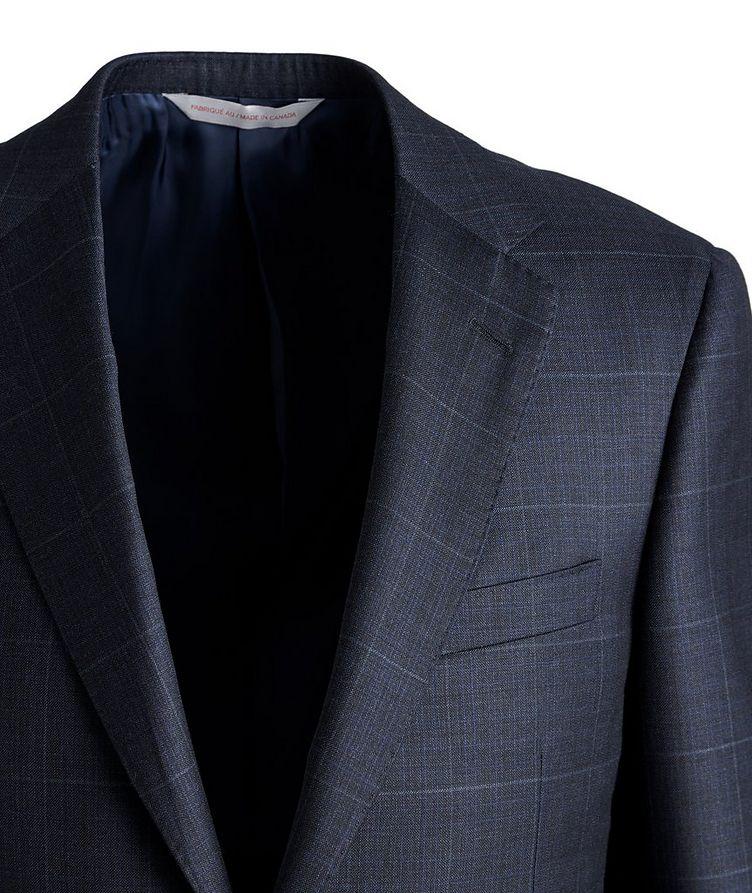 Cosmo Windowpane Check Wool Suit image 2