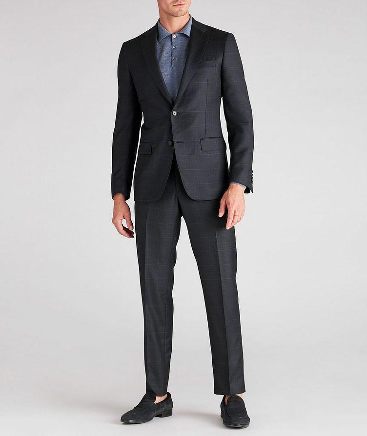 Cosmo Windowpane Check Wool Suit image 3