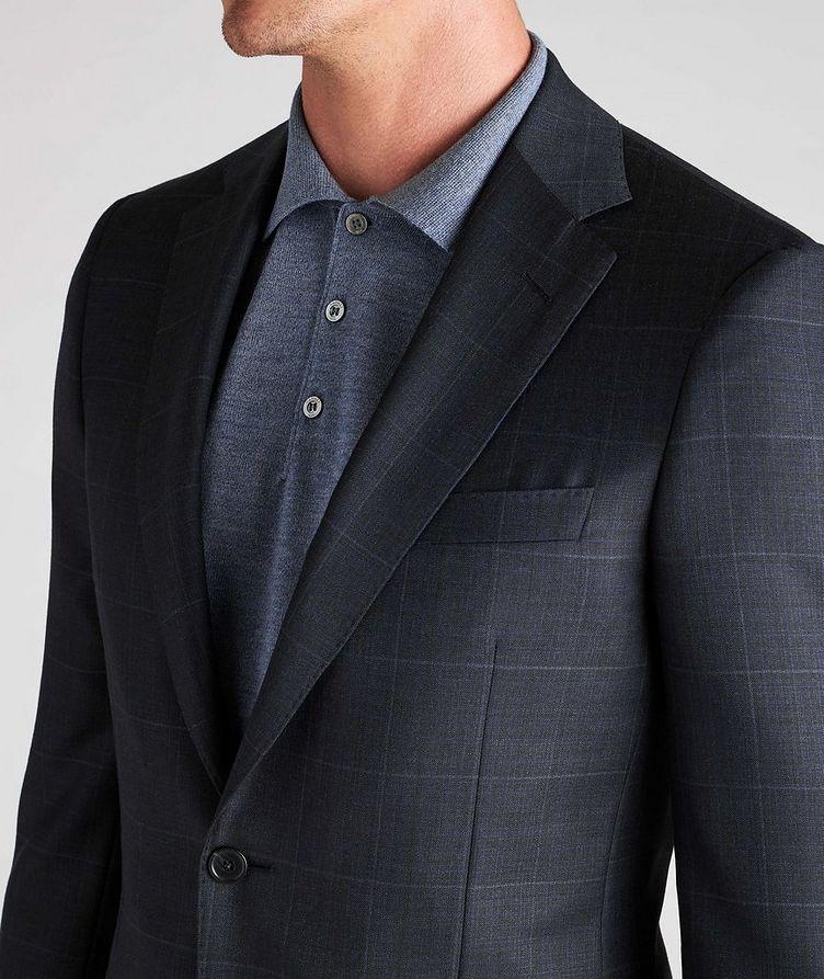 Cosmo Windowpane Check Wool Suit image 5