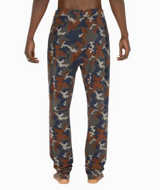 Snooze Camouflage Stretch-Modal Pants picture 2
