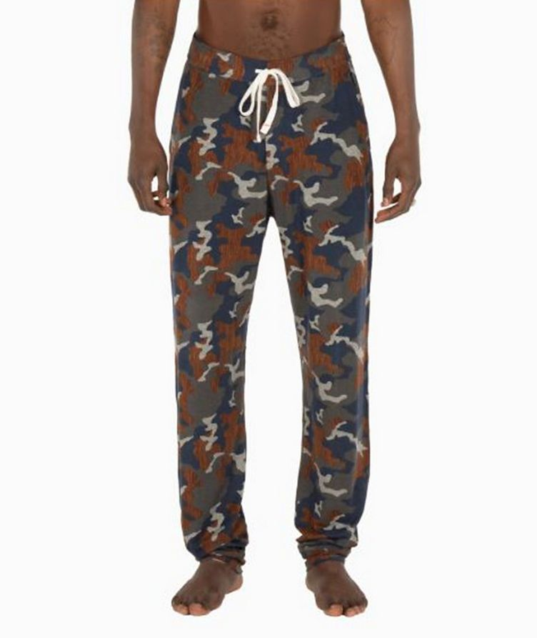 Snooze Camouflage Stretch-Modal Pants image 0