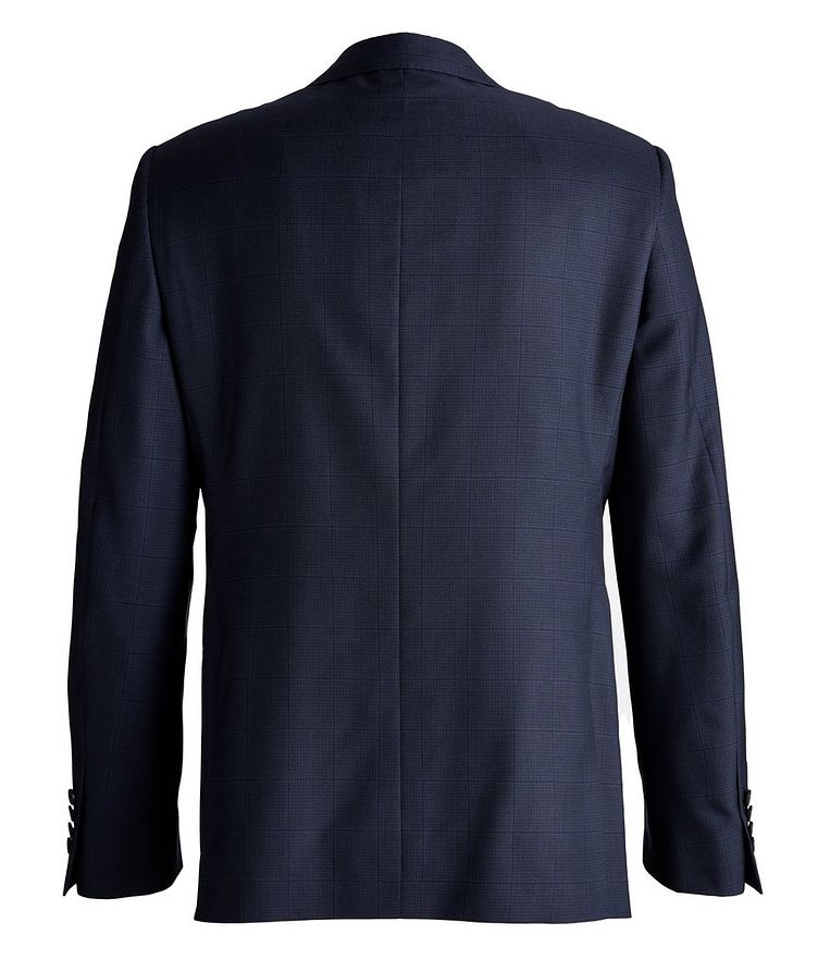 Cosmo Faint-Checked Wool-Silk Suit image 1