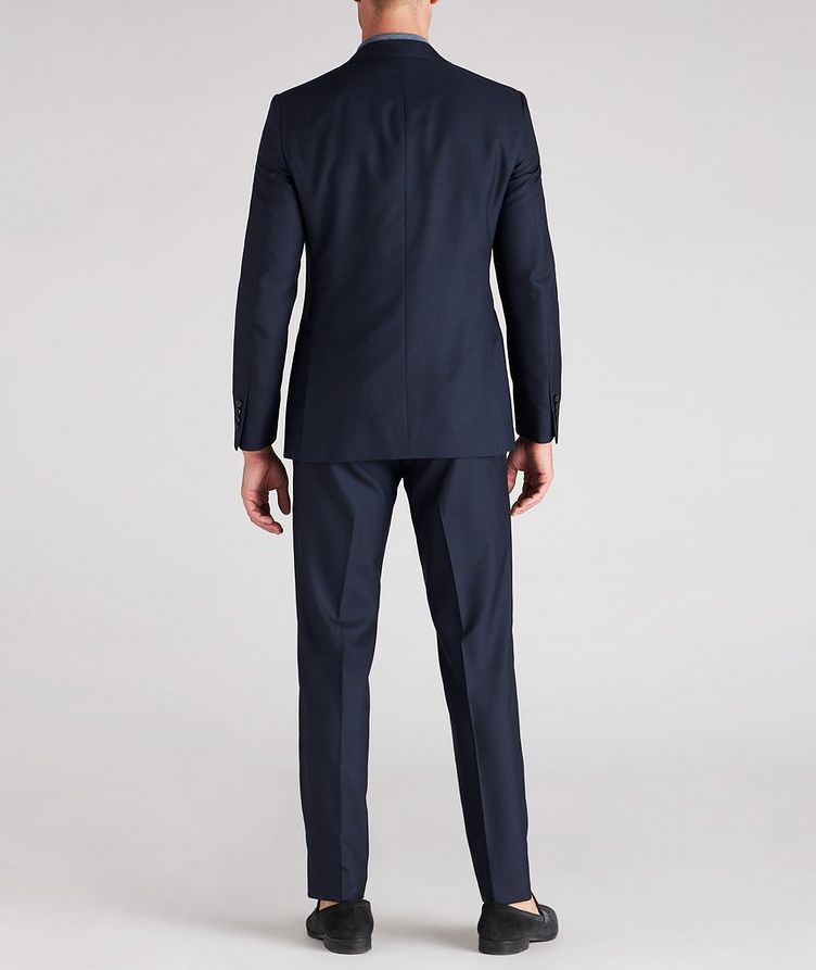Cosmo Faint-Checked Wool-Silk Suit image 4