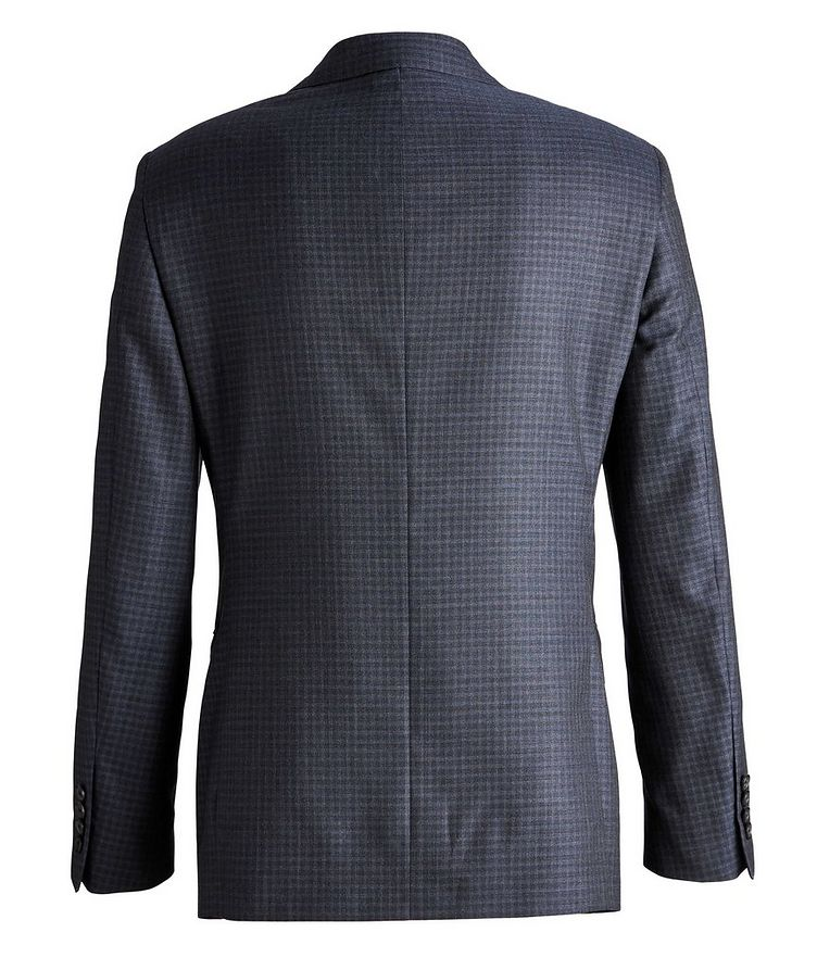 Madison Checked Wool-Silk Suit image 1