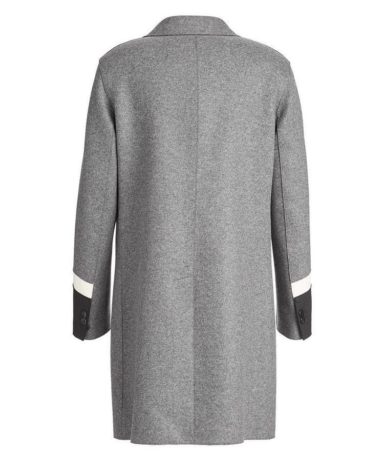 Slim Fit Wool-Blend Overcoat image 1