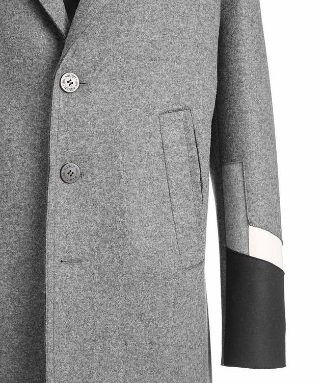 Slim Fit Wool-Blend Overcoat picture 3