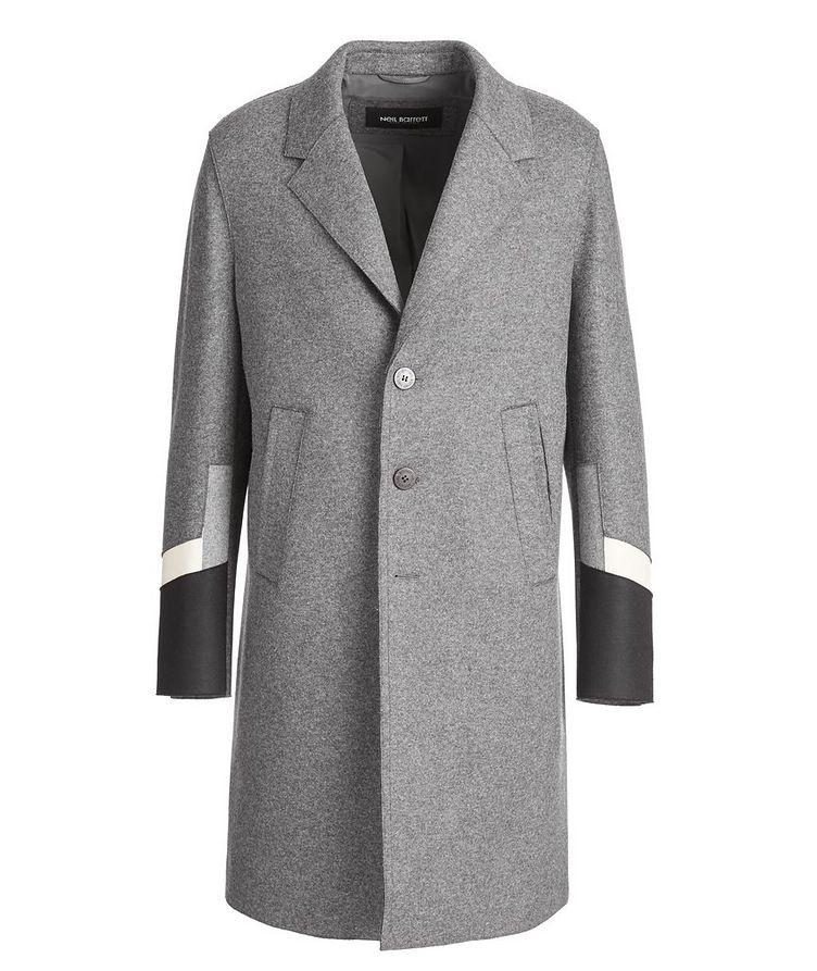 Slim Fit Wool-Blend Overcoat image 0