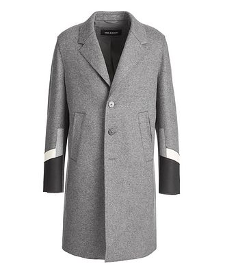 Neil Barrett Slim Fit Wool-Blend Overcoat