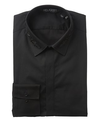 Neil Barrett Embroidered Cotton Shirt