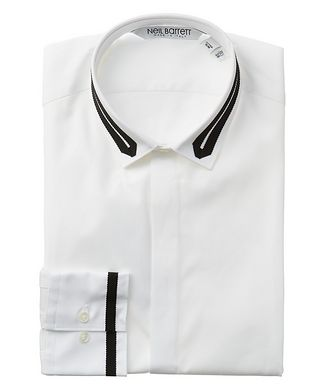 Neil Barrett Grosgrain Cotton Shirt