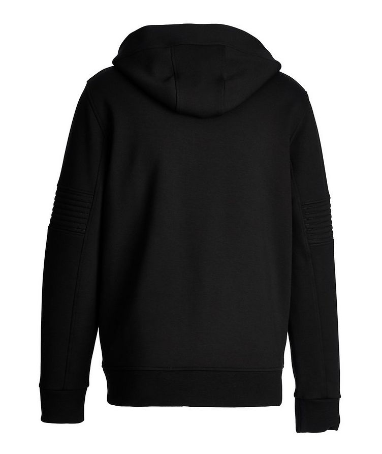 Zip-Up Ribbed Sweater image 1