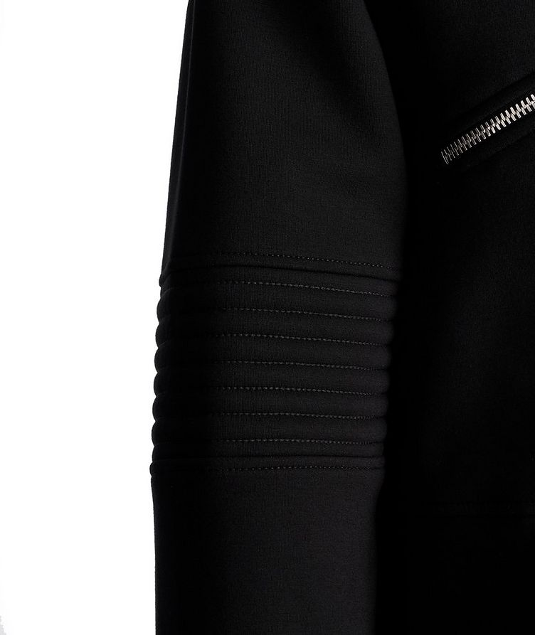 Zip-Up Ribbed Sweater image 3