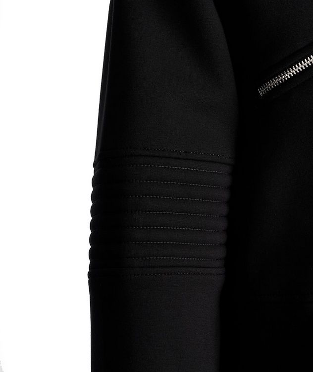 Zip-Up Ribbed Sweater picture 4