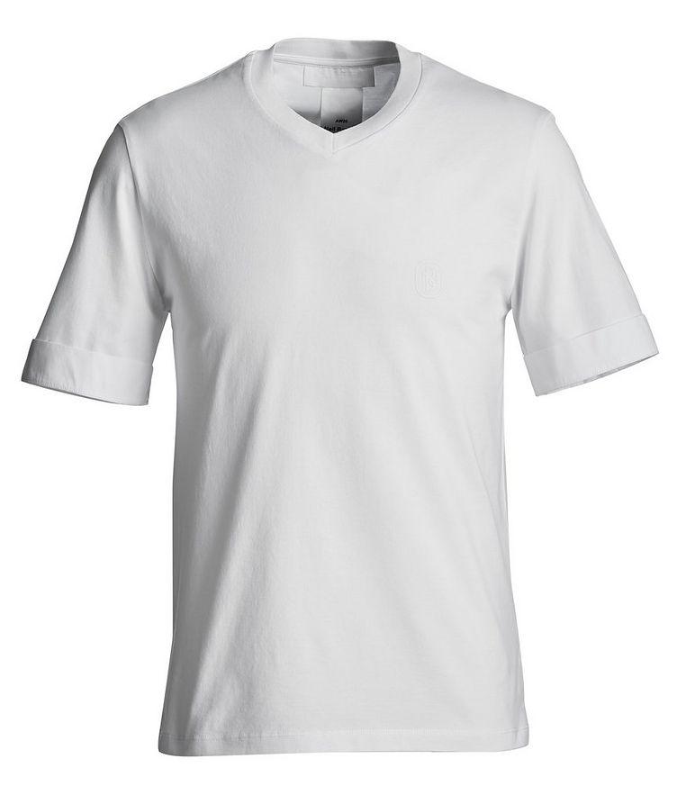 V-Neck Jersey T-Shirt image 0