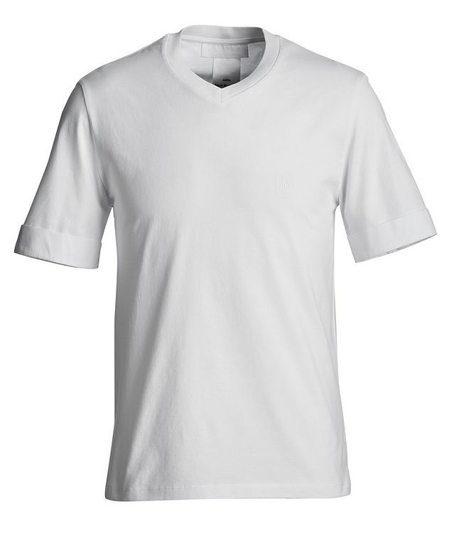 V-Neck Jersey T-Shirt picture 1