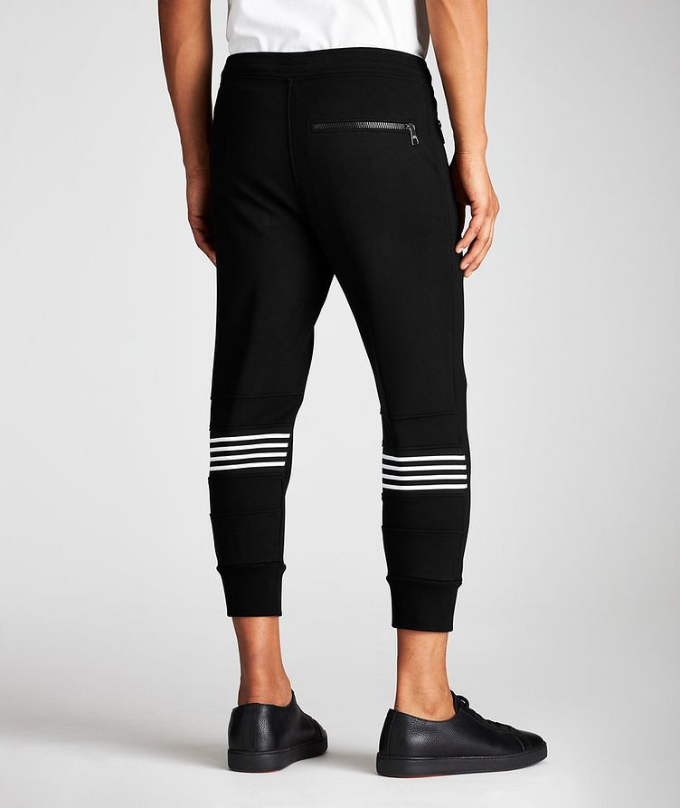 Striped Drawstring Joggers image 1