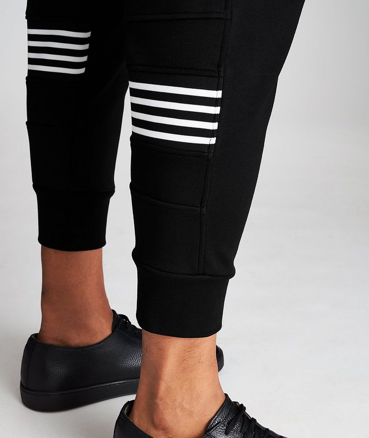 Striped Drawstring Joggers image 3