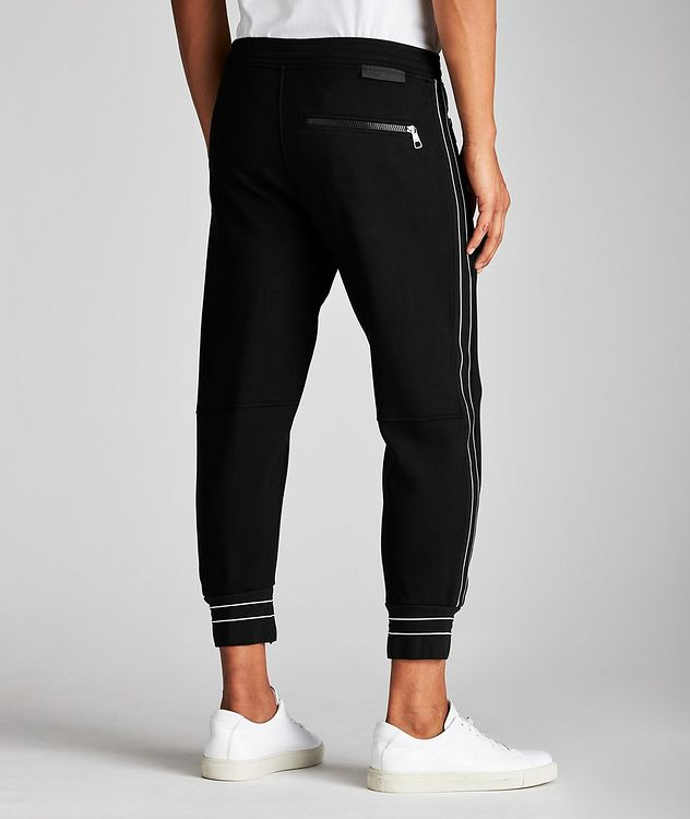 Striped Drawstring Joggers picture 2