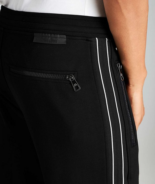 Striped Drawstring Joggers picture 3