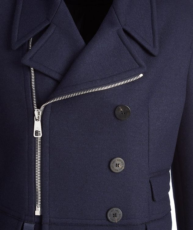 Capotto Jersey-Wool Jacket picture 2
