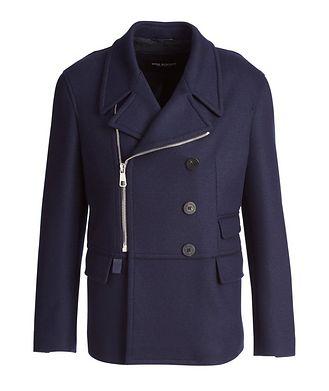 Neil Barrett Capotto Jersey-Wool Jacket