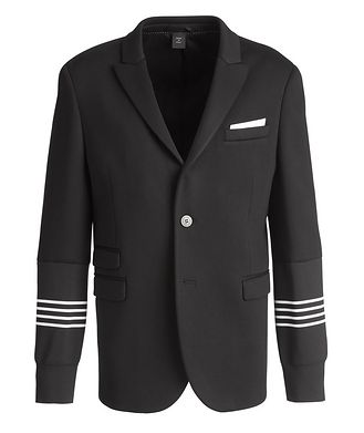 Neil Barrett Varsity Jersey Sports Jacket