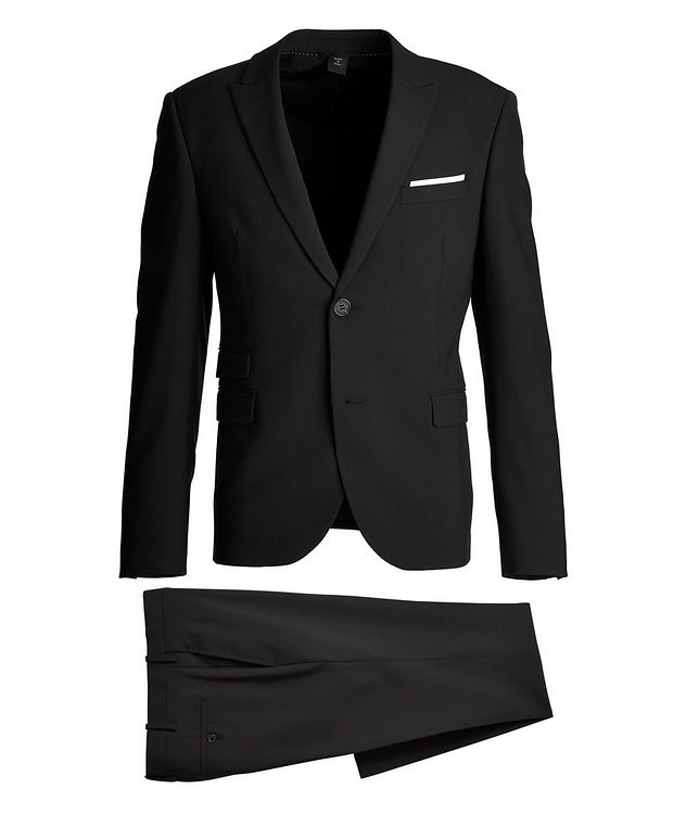 Gabardine Wool-Blend Suit picture 1