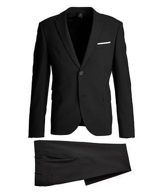 Neil Barrett Gabardine Wool-Blend Suit