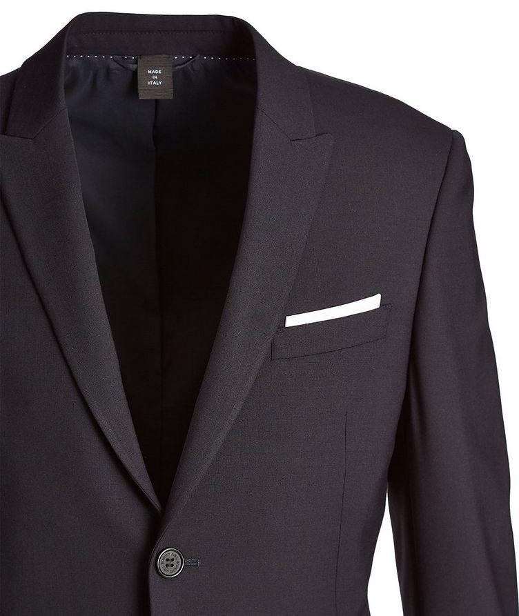 Gabardine Wool-Blend Suit image 1